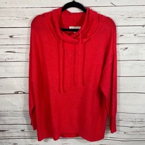 Philosophy | Cherry Funnel Neck Pullover